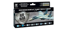 Vallejo Model Air - Soviet Su-27 Flanker 80's to Present Acrylic Paint Set # 716