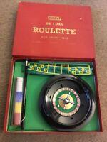 Vintage Merit De Luxe Roulette & Croupier Rake J & L Randall Ltd,Nice Example