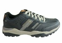 Mens Skechers Relaxed Fit Hendrick Delwood Memory Foam Lace Up Shoes - ModeShoes