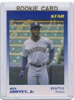 PROMO~VAR~RC~KEN GRIFFEY JR 1989 Star_Promo Dark Blue_ROOKIE VARIATION CARD~'89