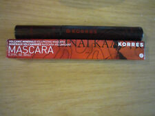 new boxed korres black volcanic minerals volumising mascara 8ml