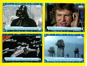 2021 Topps Star Wars Battle Plans Blue Parallel Cards 1-100 You Pick
