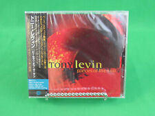 Tony Levin Pieces Of The Sun CD 2002 Discipline Global Mobile Japan Sealed