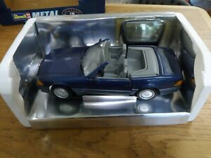 REVELL METAL MERCEDES BENZ 500 SL-32 COUPE 1;18 SCALE WITH SEPERATE HARD TOP RAR