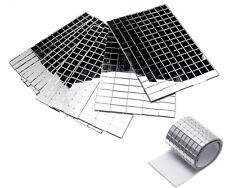 3000pcs 5x5mm Silver Self-Adhesive Mirror Mosaic Tile Mirror Xmas DIY Decoration