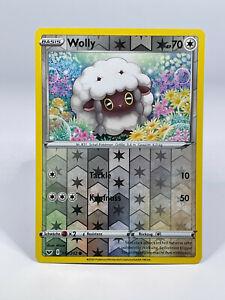 Pokémon - Reverse Holo / Wolly 153/202 Schwert & Schild DE NEU - boosterfrisch