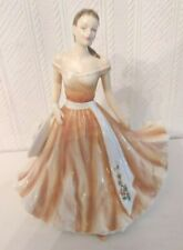 THE ENGLISH LADIES CO FIGURINE OCTOBER MARIGOLD ENGLISH MASTER PAINTER D SMITH