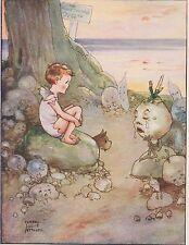 Original Mabel Lucie Attwell Water Babies Print 1920