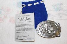 1995 AUS Pewter John Deere Limited Australia Chamberlain 80 Series Belt Buckle