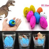 New 6 x Magic Dino Eggs Growing Hatching Dinosaur Add Water Child/Inflatable/Kid