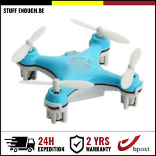 New Cheerson CX-10 Mini 4 Channel RC Drone Quadcopter Helicopter Toy Blue Bleu