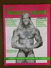 FLORIDA MUSCLE NEWS bodybuilding magazine/ TODD SAMOLUK vol 5 #9 09-92