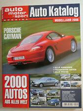 Auto Katalog Modelljahr 2006 Nr. 49 - Motor-Presse Stuttgart GmbH, 298 Seiten