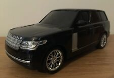 Range Rover LAND ROVER de radio control remoto de volante de coche 1:16 25CM Negro
