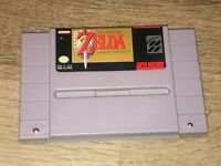 Legend of Zelda A Link to the Past Super Nintendo Snes Battery Saves Authentic