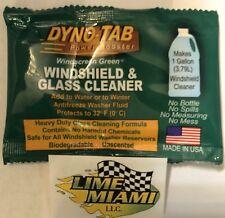 Dyno-tab® Windscreen Green® 1-tab Car & Truck Windshield Washer Cleaner Dynotab