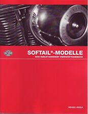 Harley Werkstatt Handbuch deutsch 2008 Softail 99482-08gb Wartungsanleitung FLST