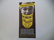 advertising Pubblicità 1980 AMARO BORSCHI SAN S. MARZANO