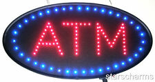 Animated Oval Shape Led Neon Light Atm Open Sign S86