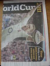 09/09/2011 Rugby World Cup 2011: Daily Mail, A Guide To Every Nation & Every Mat