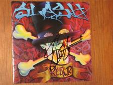SLASH - HAND SIGNED - SELF TITLED RELEASE COMPACT DISC BOOKLET