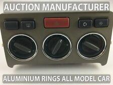 Land Rover Freelander 1998-2003 Polished aluminium Chrome heater surrounds rings