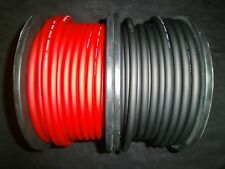 6 GAUGE AWG WIRE CABLE 20 FT 10 BLACK 10 RED POWER GROUND STRANDED PRIMARY