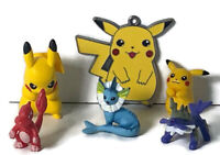 Nintendo Pokemon Tomy Figure Toy Bundle Pikachu + Other Pokemon Characters 6 Toy