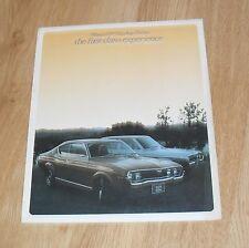 Mazda 929 Hardtop Coupe & Sedan Brochure 1973