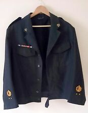 Israel IDF Army - Old  Navy Winter Uniforms Dress Jacket W ZAHAL Sign Late 60s