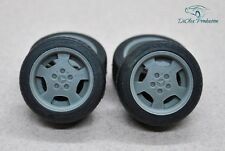 1/24 wheels 16 inch Lorinser RS80 with tires for Tamiya Aoshima Hasegawa