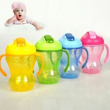 Infant Straw Bottle Trainer Learn Drinking Cup Leak Proof Cup Sippy Cups Cup