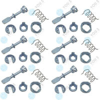 6 Set You.S Door Lock Cylinder Front Right For VW Polo (6N1) - New
