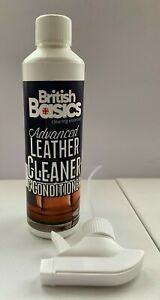 Leather Cleaner Conditioner Settee Sofa Armchair Furniture Clothes Revive Clean