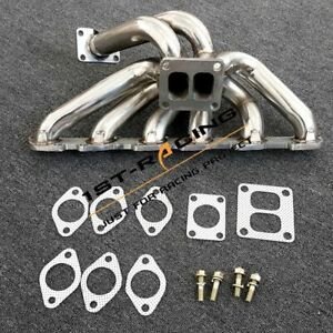 Top Mount Turbo Exhuast Manifold Stainless Steel For Nissan Skyline RB30 Engine