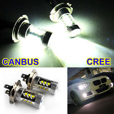 2× 80W H7 499 477 CREE LED Nebelscheinwerfer Tagfahrlicht Lampe Scheinwerfer DRL