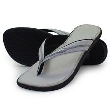 Oakley PORTOLA White Black Size 6 US Womens Girls Sandals Beach Flip Flops