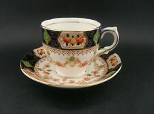 Salisbury Mona Vintage English Fine Bone China Demitasse Tea Cup & Saucer c1940