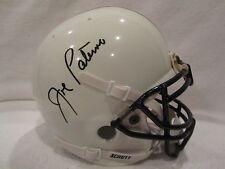 Joe Paterno (D 2012) Autographed Penn St. Mini Helmet – Full JSA L.O.A.