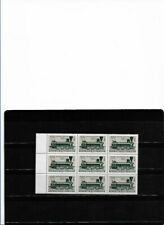 "AUSTRIA 1967, IVERT 1079 BLOQUE DE 9 "" TRENES ""   MNH."