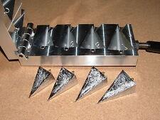 Saltwater Pyramid Sinker mold 4,5,6,7oz CNC Aluminum Surf Beach
