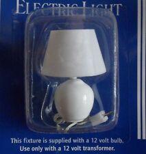 Lovely White Table Lamp for the DOLLS HOUSE