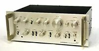 PIONEER Pioneer C-77 Stereo Preamp Vintage  Retro Antique Operation confirmed