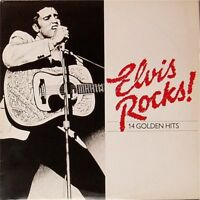 ELVIS PRESLEY 'ELVIS ROCKS' UK LP