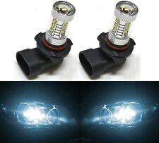 LED 80W 9005 HB3 White 6000K Two Bulbs Head Light High Beam Replace Lamp OE