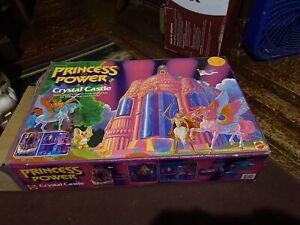 Vintage 1985 She-Ra Princess of Power Crystal Castle Playset With Original Box