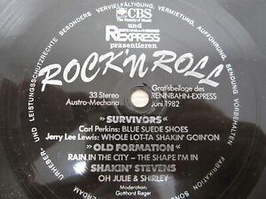 Flexi-Disc- Carl Perkins, Jerry Lee Lewis, Old Formation, Shakin' Stevens  RocK