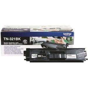 Brother TN321BK Black Laser Toner Cartridge TN-321BK [BA73496]