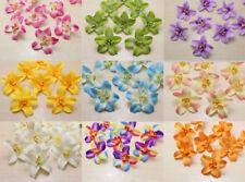 100X 8cm  Artificial Simulation Fabric Thai Orchid Artificial Silk Flowers Head