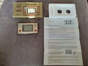 Game And Watch Nintendo Parachute En Boîte complet Testé Fonctionnel